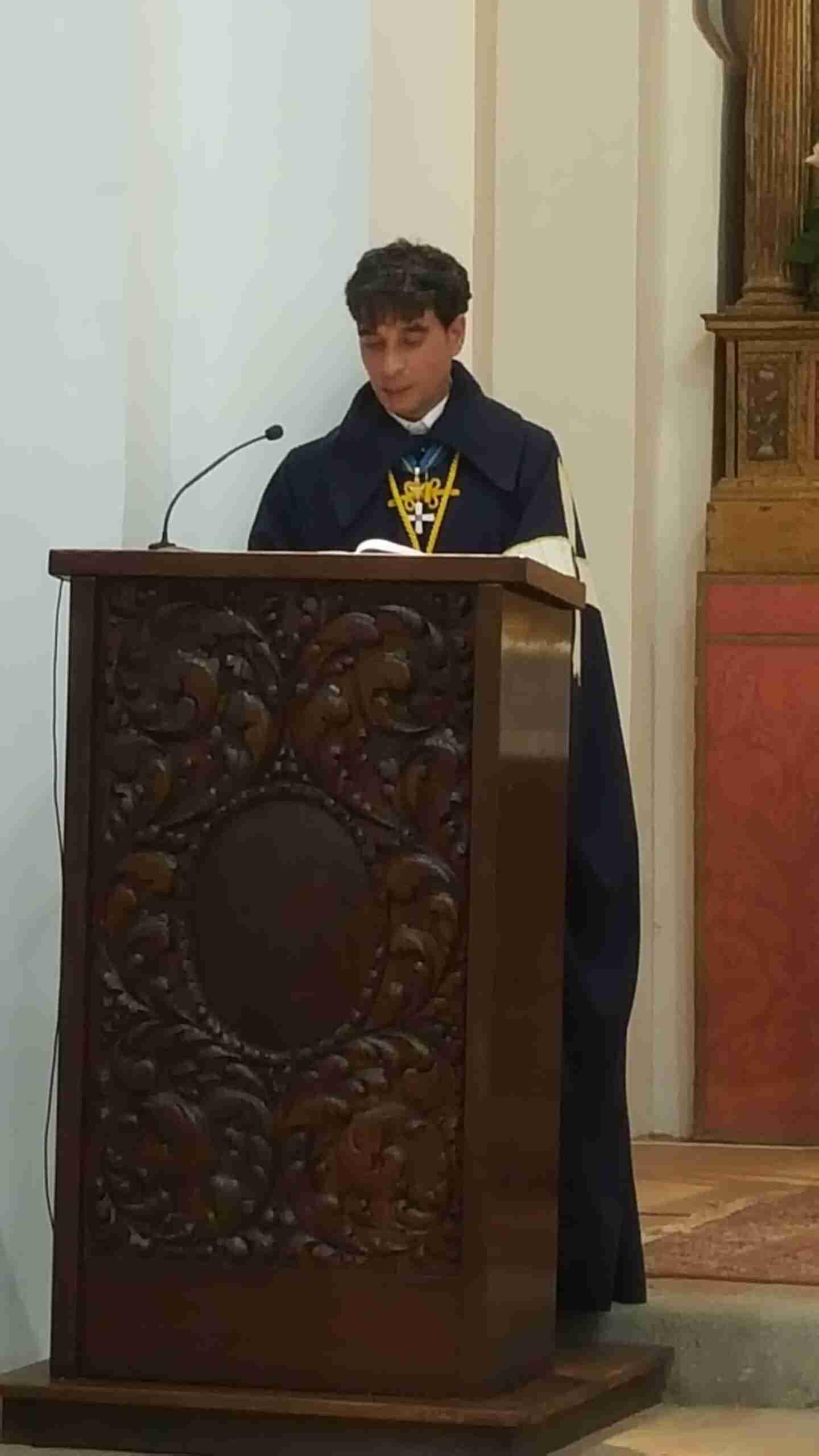 Entrega del Collar de la Hermandad Mozárabe al Arzobispo de Toledo, Mons. Don Francisco Cerro Chaves 7
