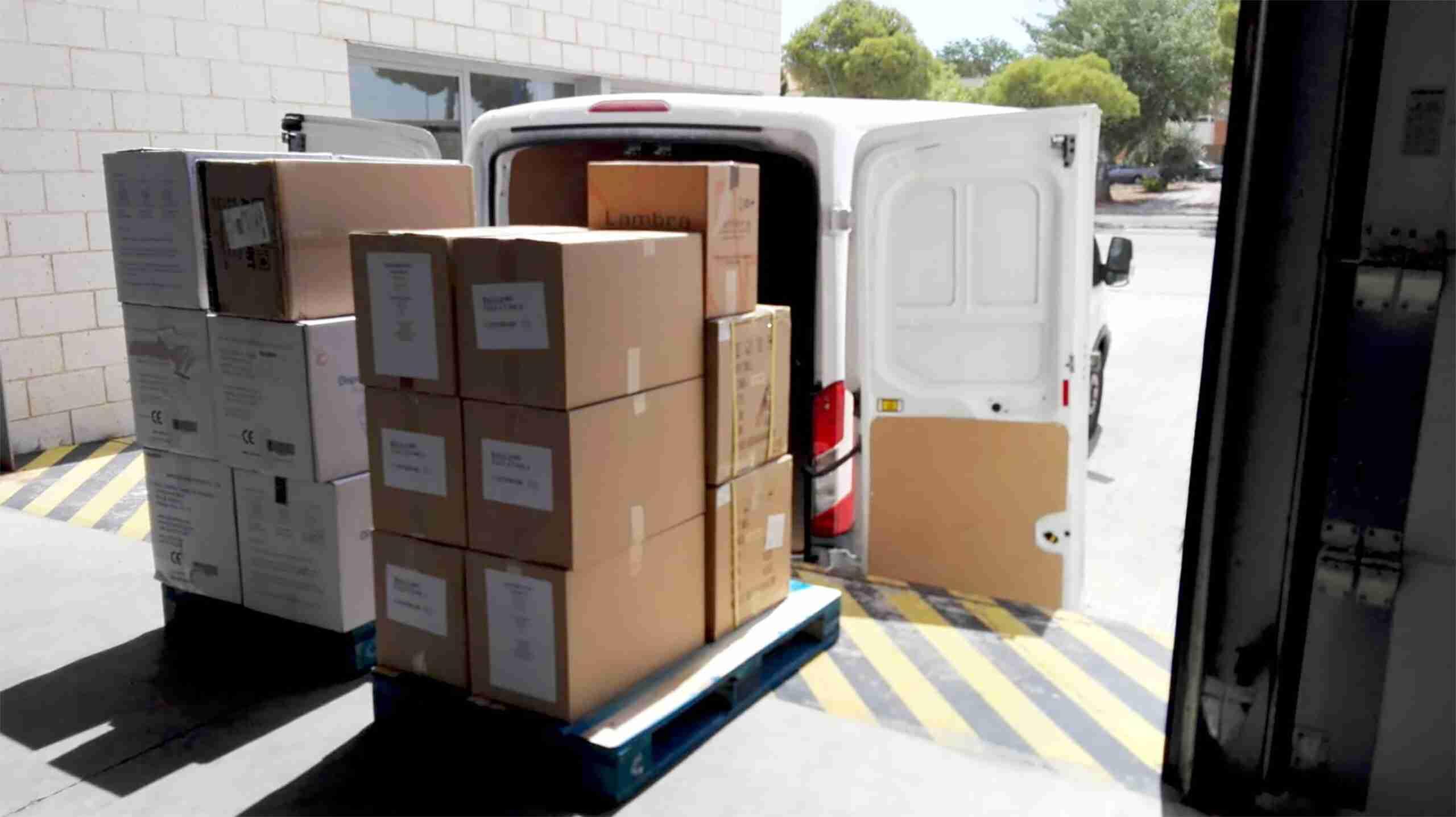 Castilla-La Mancha reparte hoy 10.800 test rápidos y más de 156.000 artículos de protección en la provincia de Ciudad Real 3