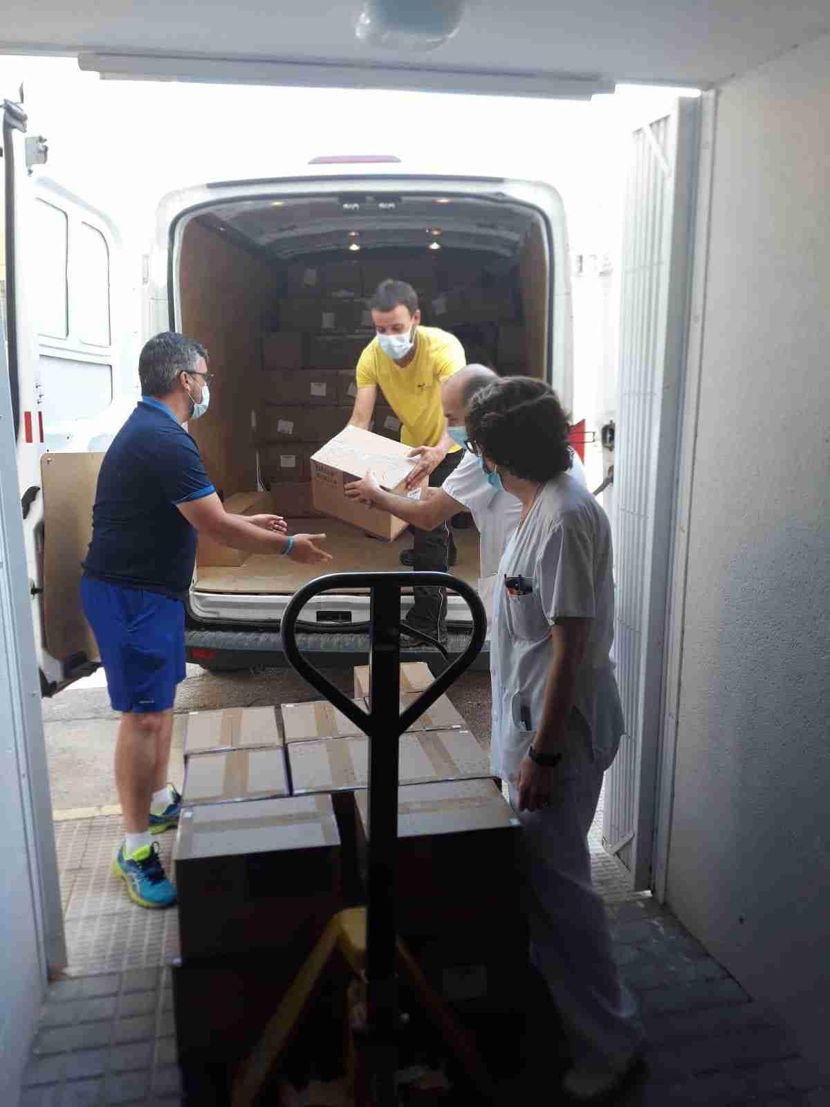 Sanidad reparte 9.600 test rápidos de detección del COVID19 y un nuevo cargamento de material de protección en la provincia de Ciudad Real 1