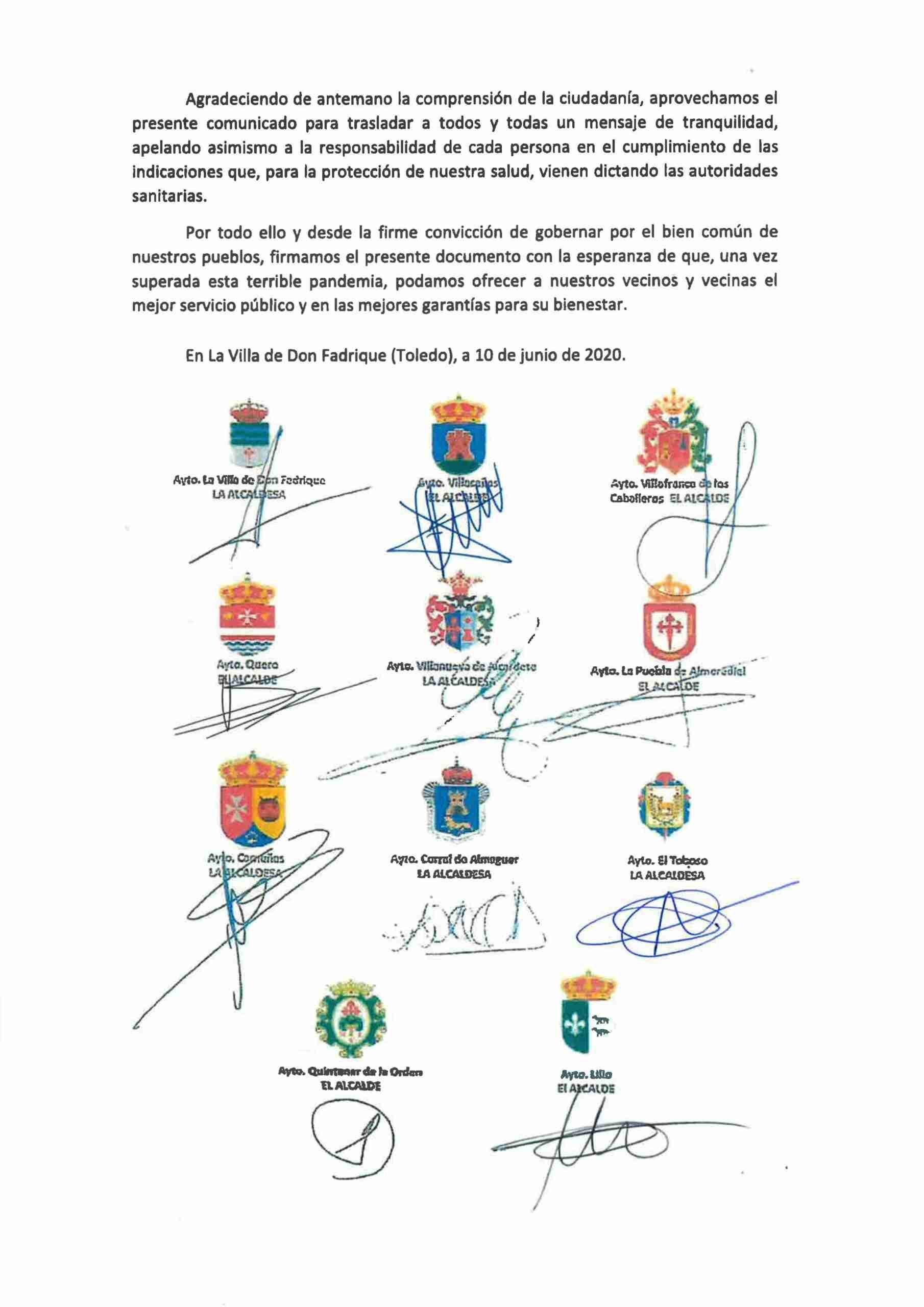 Quintanar de la Orden se suma al acuerdo de los Ayuntamientos de la comarca de no abrir las piscinas  municipales 6