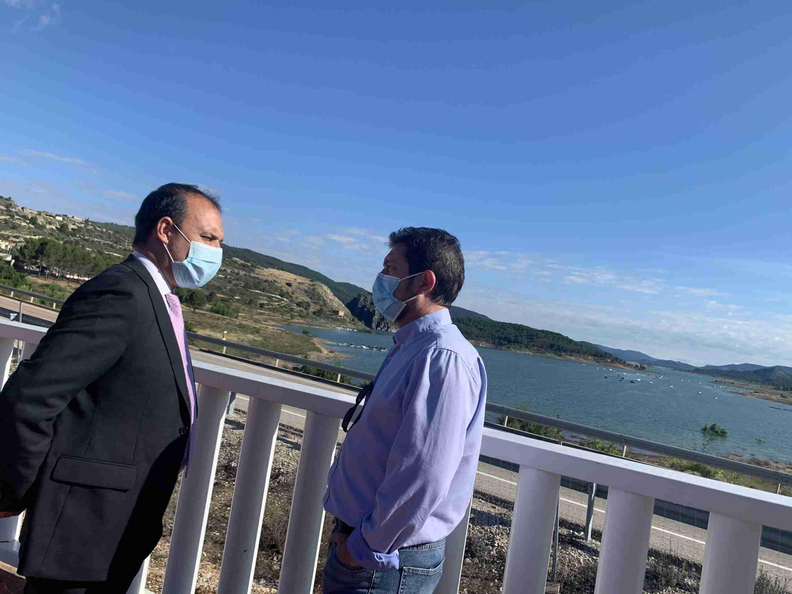 """El presidente de las Cortes reclama """"alto y claro que necesitamos agua en los embalses de la cabecera del Tajo"""" 3"""