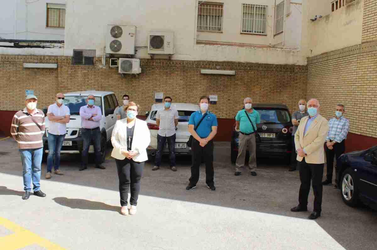 Los empleados públicos del parque móvil de la Junta contribuyeron en la lucha contra el COVID-19 con más de 1.580 traslados de personal y material en Ciudad Real 1