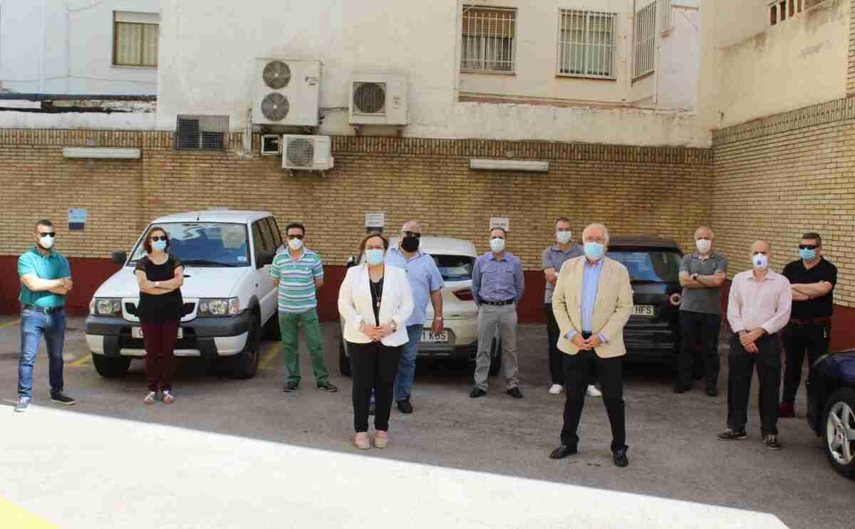 Los empleados públicos del parque móvil de la Junta contribuyeron en la lucha contra el COVID-19 con más de 1.580 traslados de personal y material en Ciudad Real 2