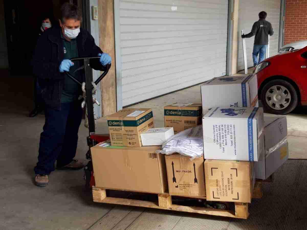 El Gobierno de Castilla-La Mancha reparte más de 180.000 artículos de protección y 1.600 test rápidos en provincia de Ciudad Real 1
