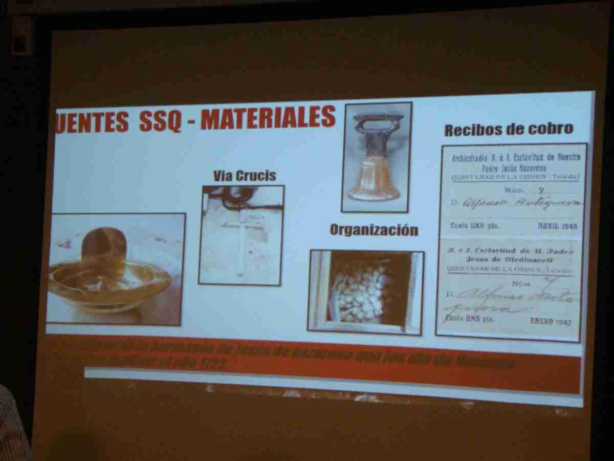 Zacarías López-Barrajón ofrece una completa conferencia sobre indumentaria en la Semana Santa Quintanareña 3