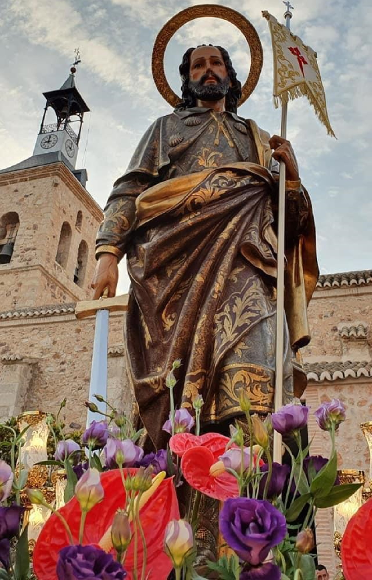 suspendidas fiestas santiago apostol carrion calatrava
