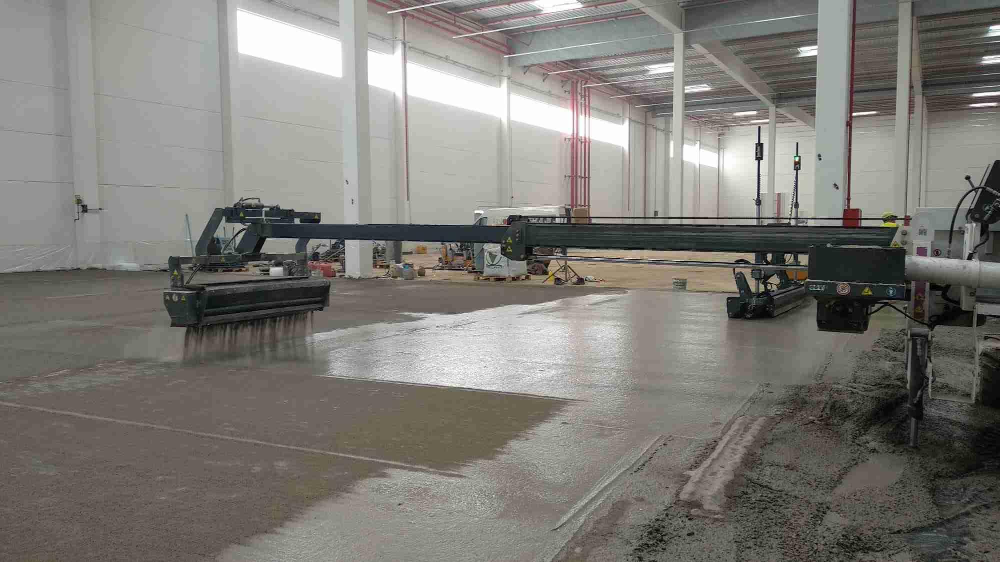 Cemex suministra 12.000 m3 de hormigón para una nave nueva en Ontígola 5