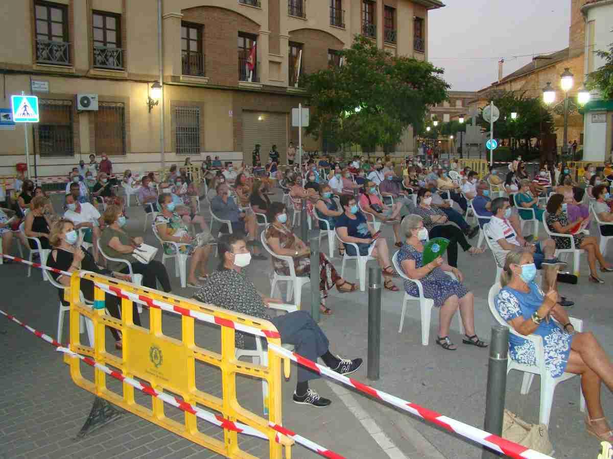 La Banda Sinfónica Municipal de Quintanar de la Orden ofrece un gran concierto con todas las medidas de seguridad 6
