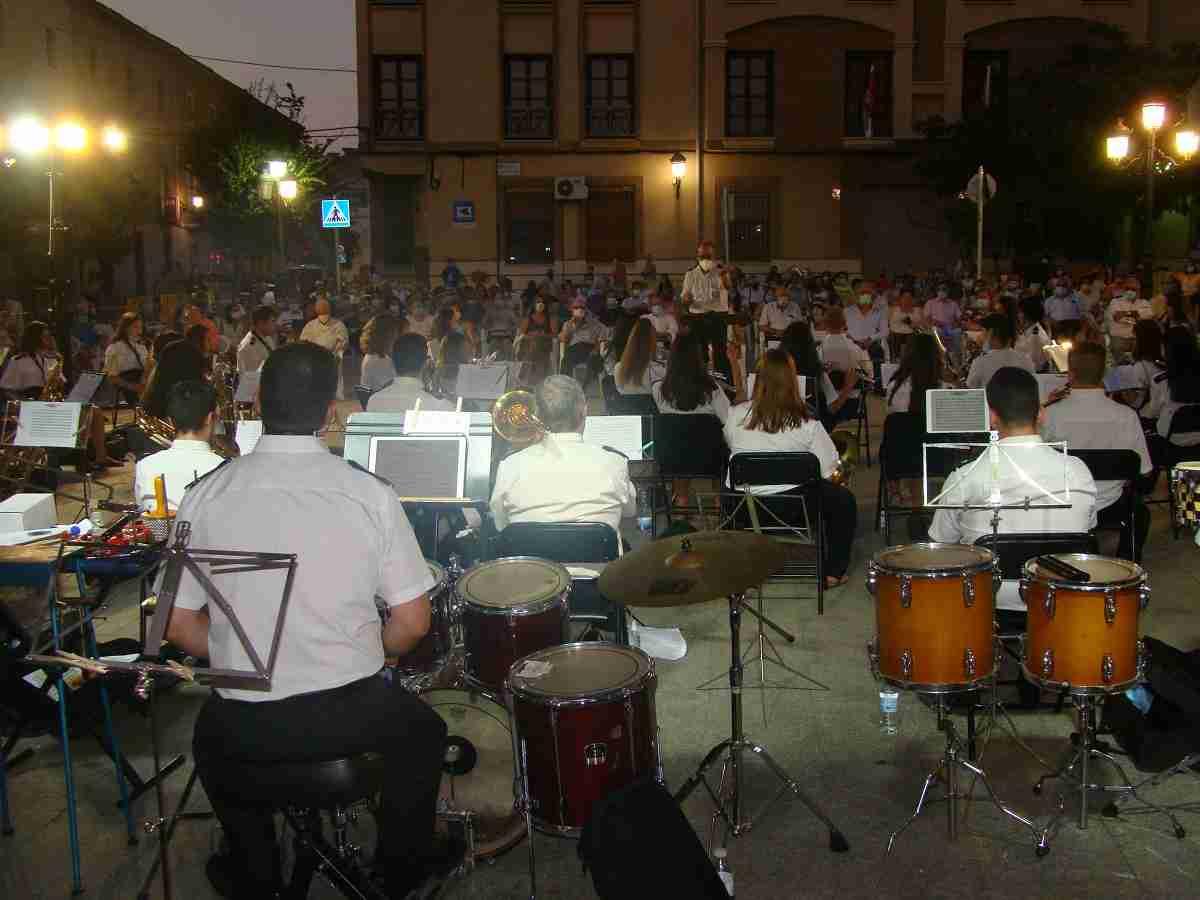 La Banda Sinfónica Municipal de Quintanar de la Orden ofrece un gran concierto con todas las medidas de seguridad 5