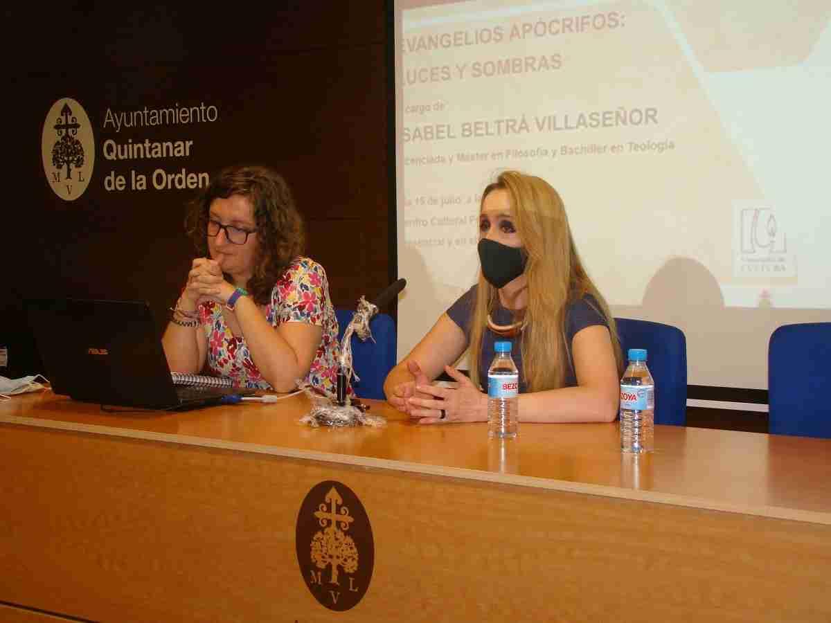 Isabel Beltrá ofrece una interesante conferencia sobre los Evangelios Apócrifos 5