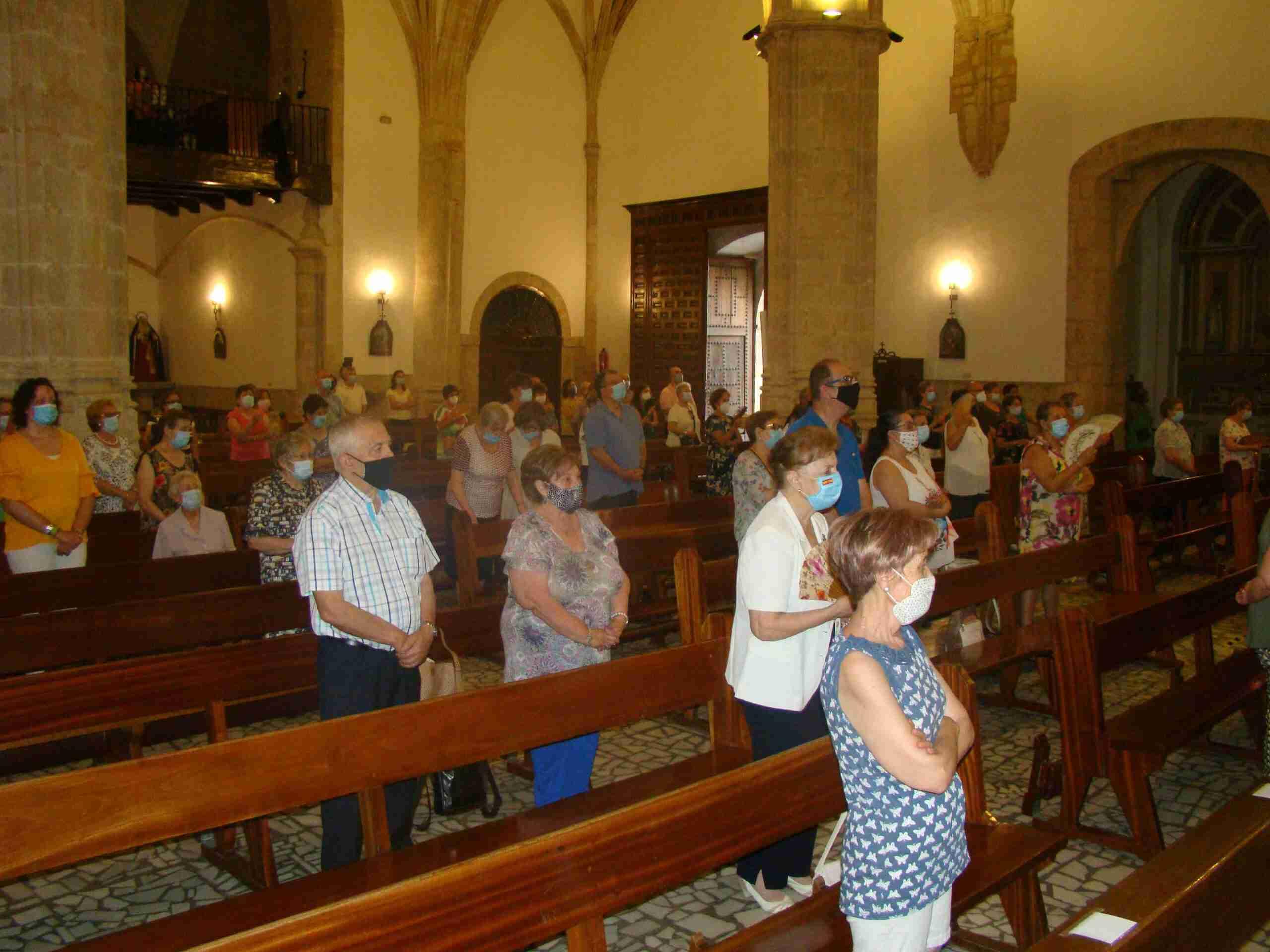 Quintanar celebra la festividad de Santiago y de San Joaquín y Santa Ana con actos religiosos 5