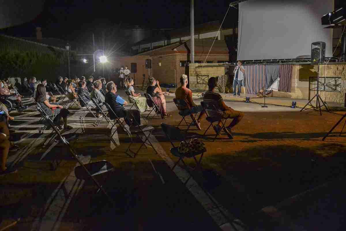 'Vi-viendo Calatrava' emociona y hace reír a los vecinos de Bolaños en una noche mágica 6