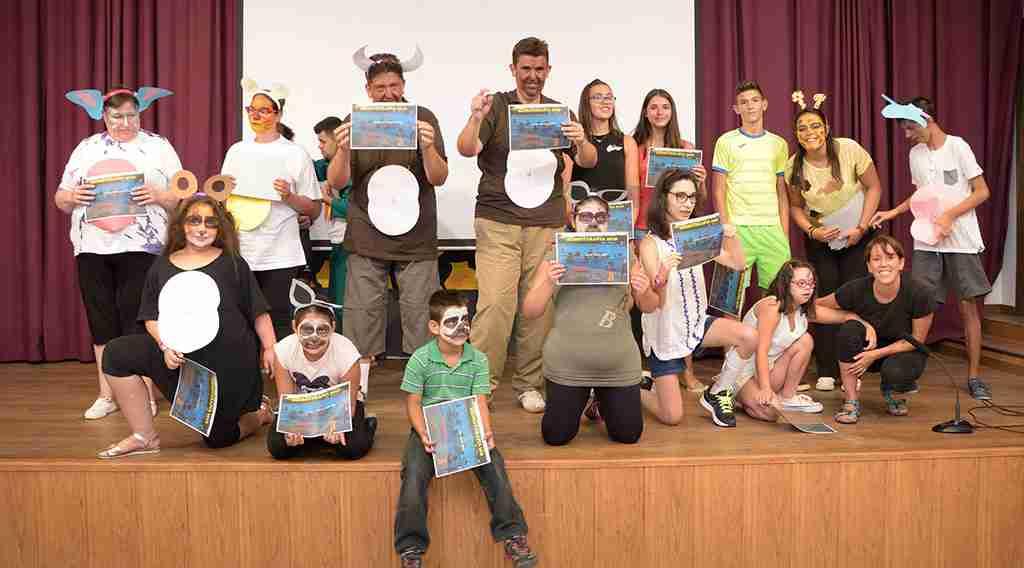 Conferencia de prensa de Juventud e Infancia en Argamasilla de Alba 1