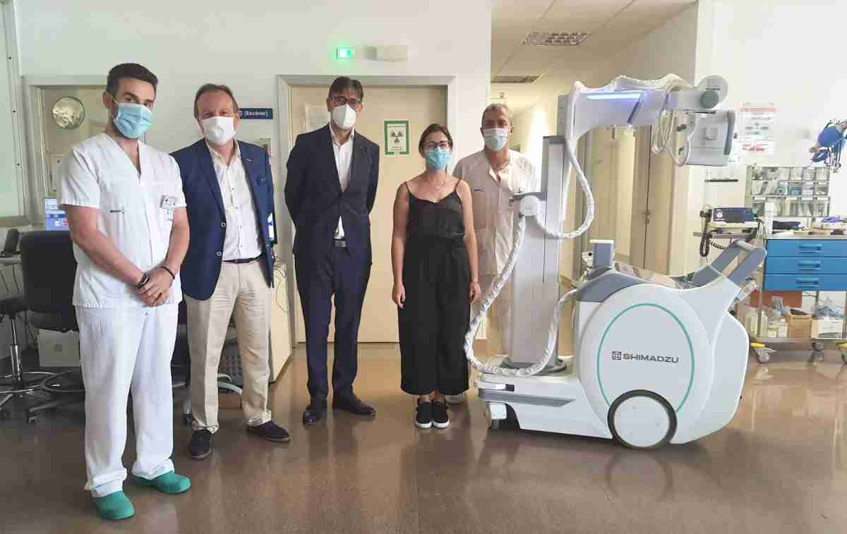 nuevo equipo radiologia portatil hospital tomelloso