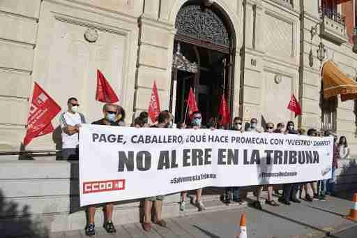 UGT CLM apoya el rechazo de los periodistas de La Tribuna al ERE planteado y pide a Promecal negociar otras medidas 1