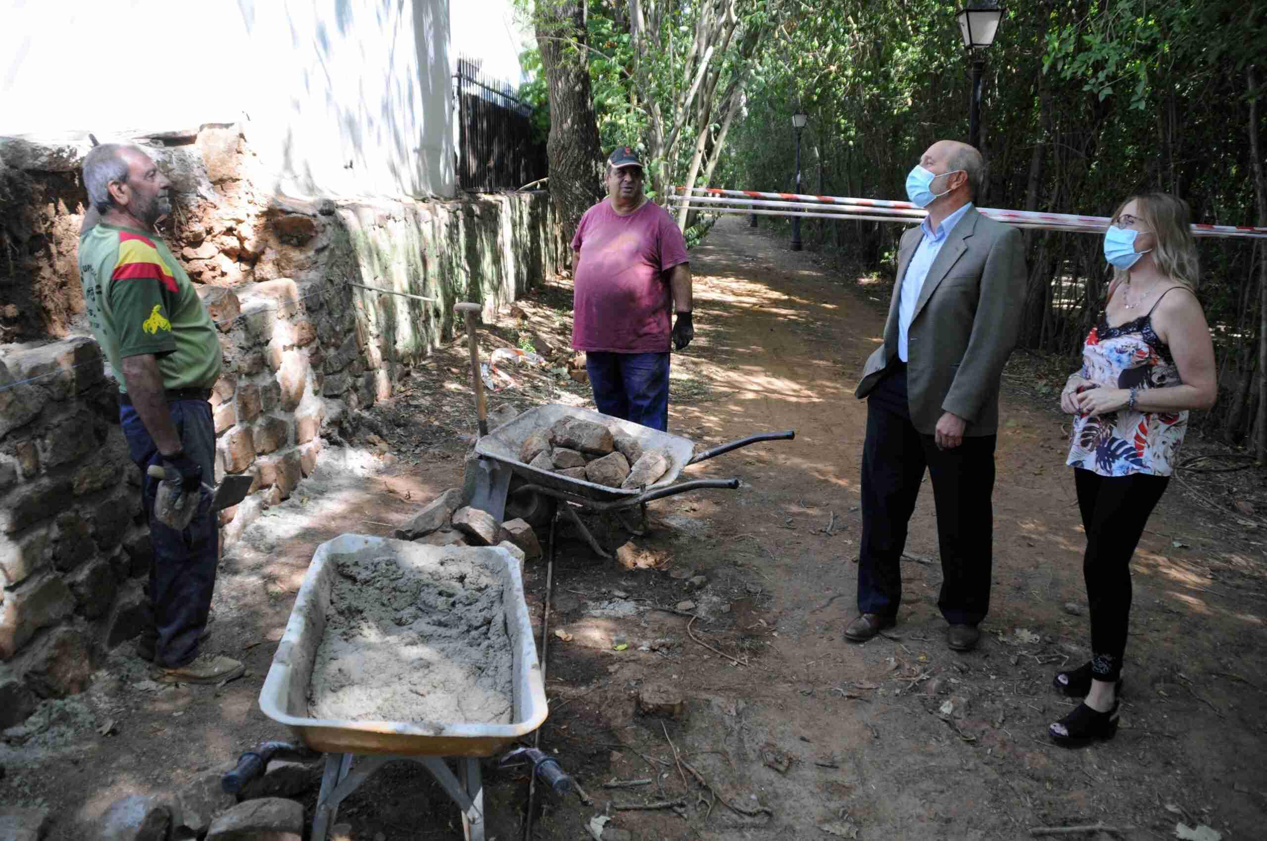Rehabilitan la plaza de toros de Las Virtudes y su entorno en Santa Cruz de Mudela 1