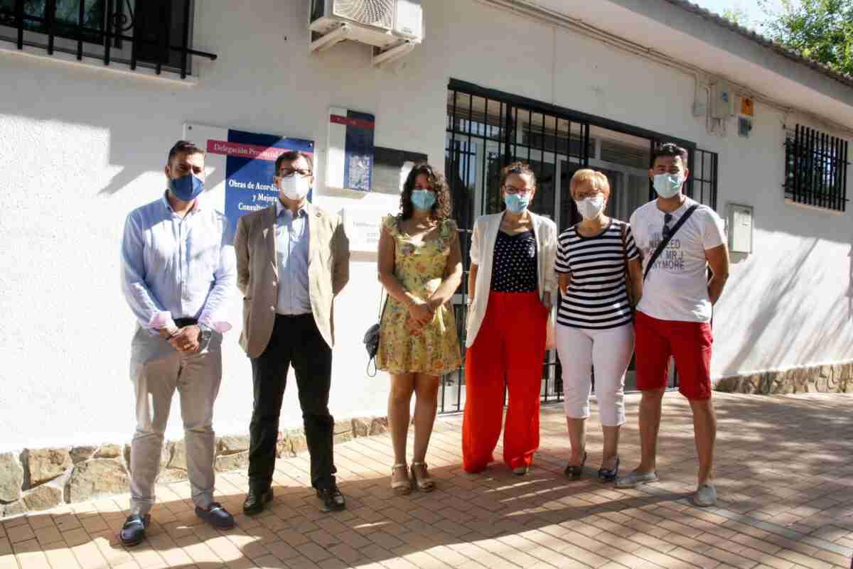 El Gobierno regional comprueba las obras de ampliación y reforma en el consultorio de la Villa de Don Fadrique 2
