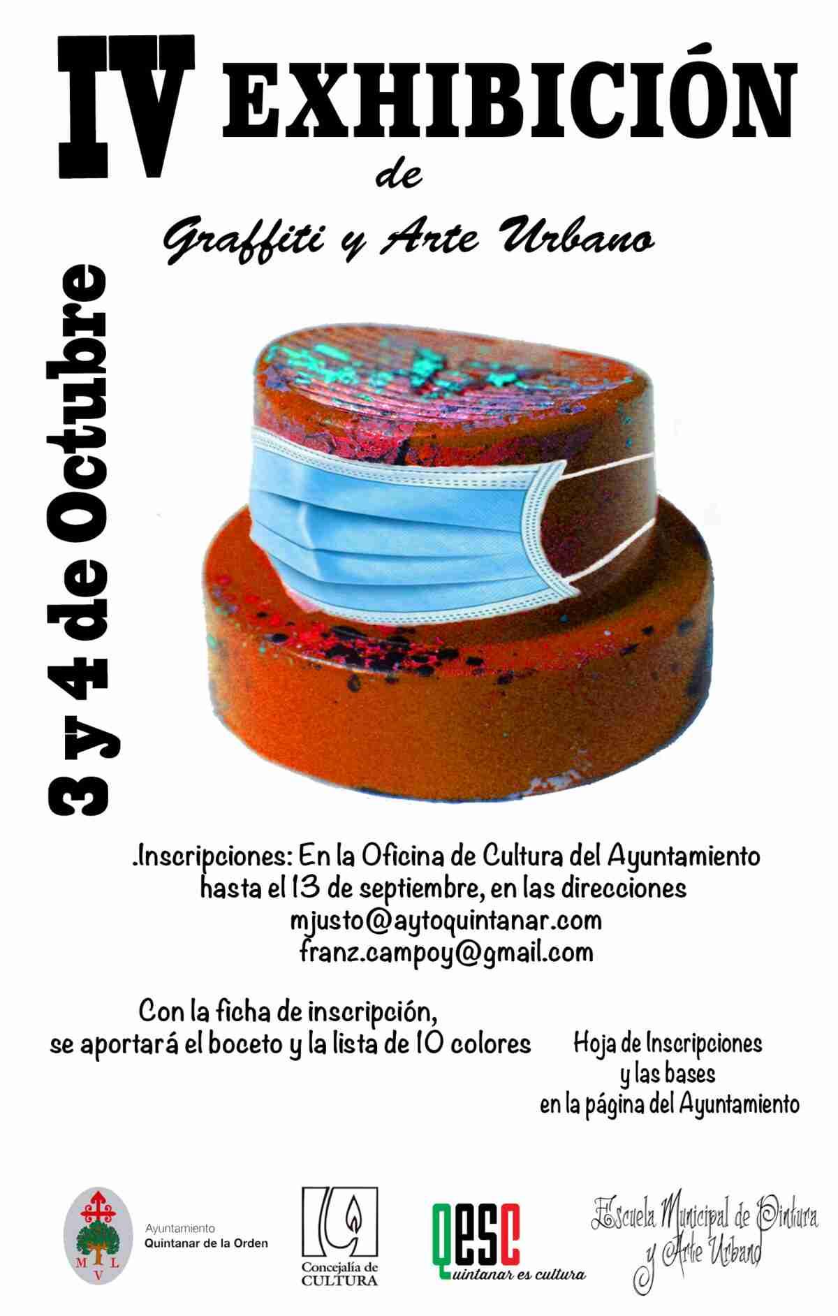 Ayuntamiento y Escuela de Pintura convocan a la IV Exhibición de Graffiti y Arte Urbano 1
