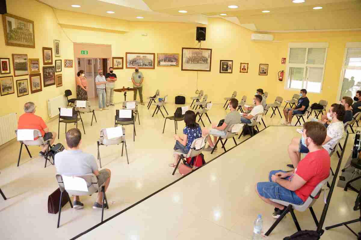 Se puso en marcha el XVIII Curso Internacional de Dirección de Bandas de Música en Argamasilla de Alba 5