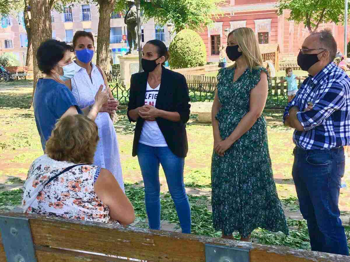 Picazo (Ciudadanos) visita Ciudad Real para conocer los daños del pedrisco de primera mano 1