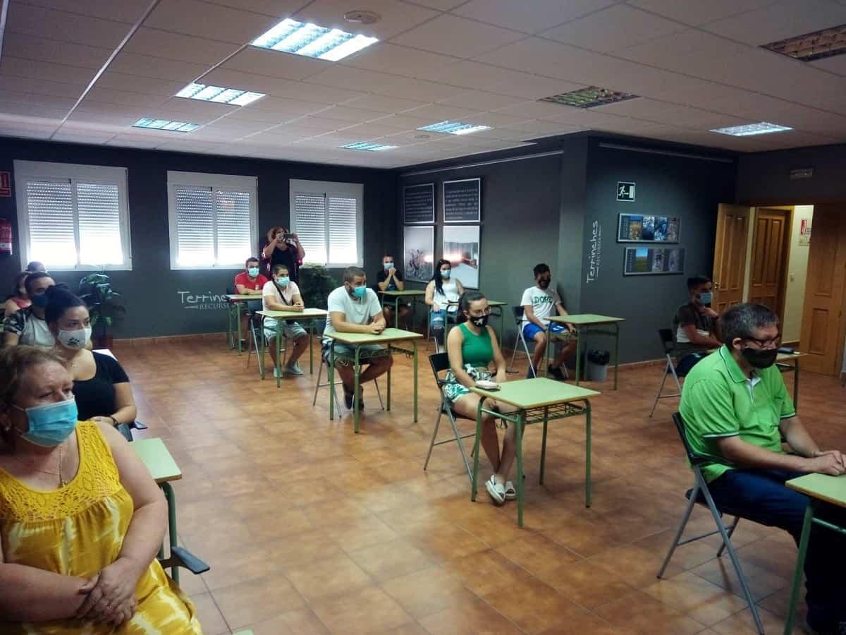 Terrinches y la Diputación ofrecen formación profesional a 15 desempleados de la localidad 6