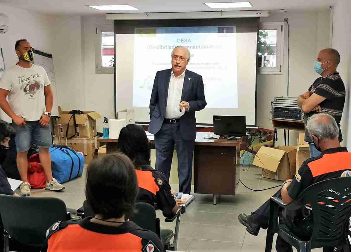 El Gobierno de Castilla-La Mancha celebró un curso de uso del desfibrilador para voluntarios de Protección Civil en Ciudad Real 1