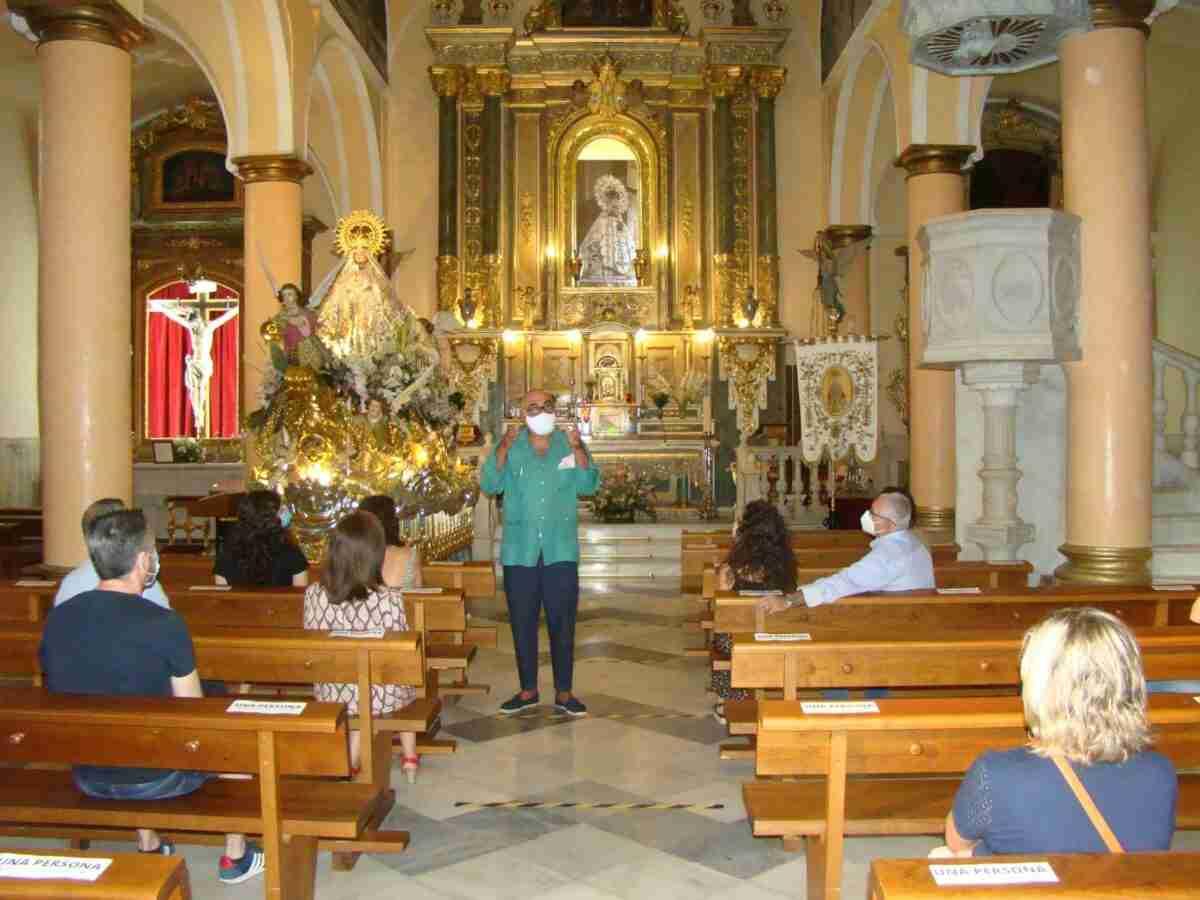 Mario López-Barrajón ofrece un recorrido interesante y charla acerca de decoración en la ermita de la Virgen y sus pinturas 1