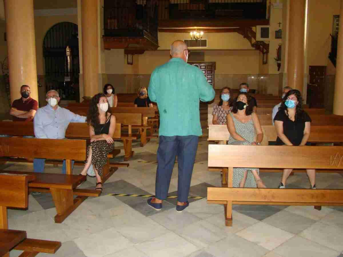 Mario López-Barrajón ofrece un recorrido interesante y charla acerca de decoración en la ermita de la Virgen y sus pinturas 2
