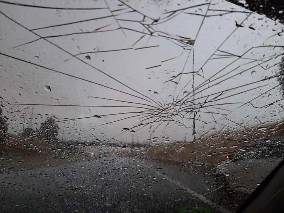 """Poblete va a solicitar declaración de """"Zona Gravemente Afectada"""" por los daños de la fuerte granizada 1"""