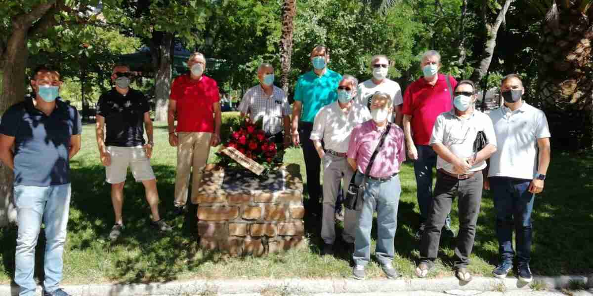 CCOO rindió a los 9 trabajadores fallecidos el 14 de agosto de 2003 en la explosión de Repsol-Puertollano 1