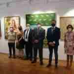 Inaugurada la exposición del XXIX Premio de Pintura Antonio Arnau en La Ermitilla en Quintanar de la Orden 1