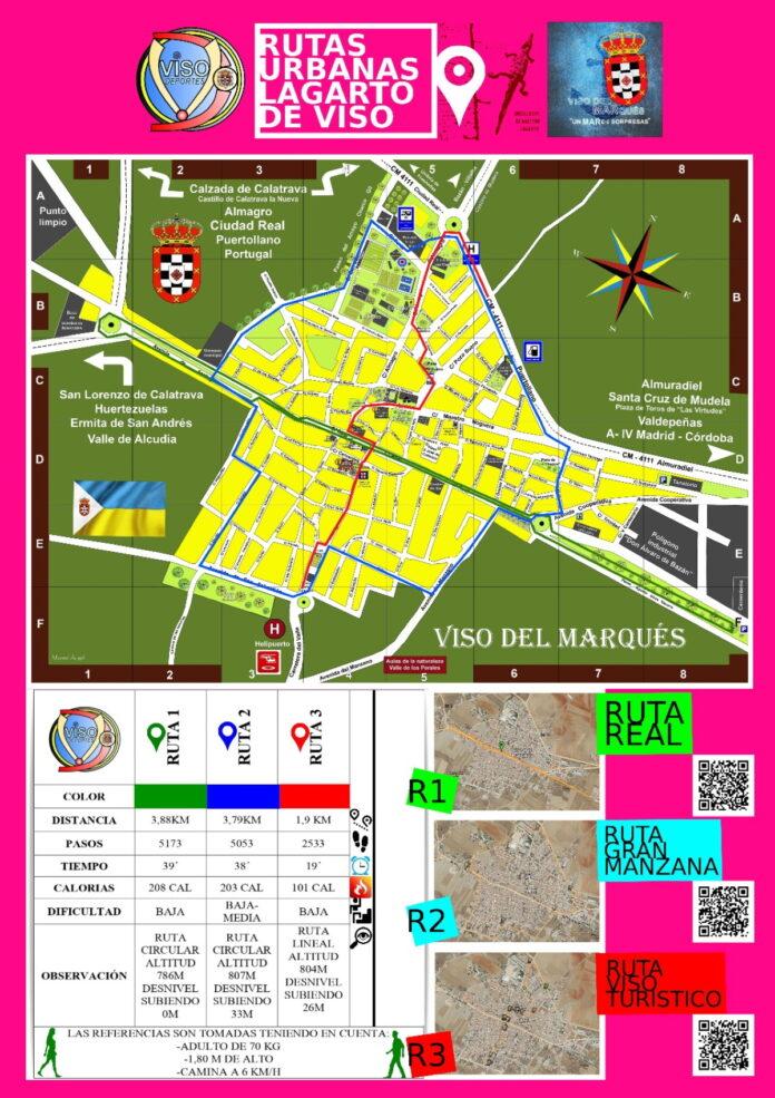 rutas urbanas de viso del marques