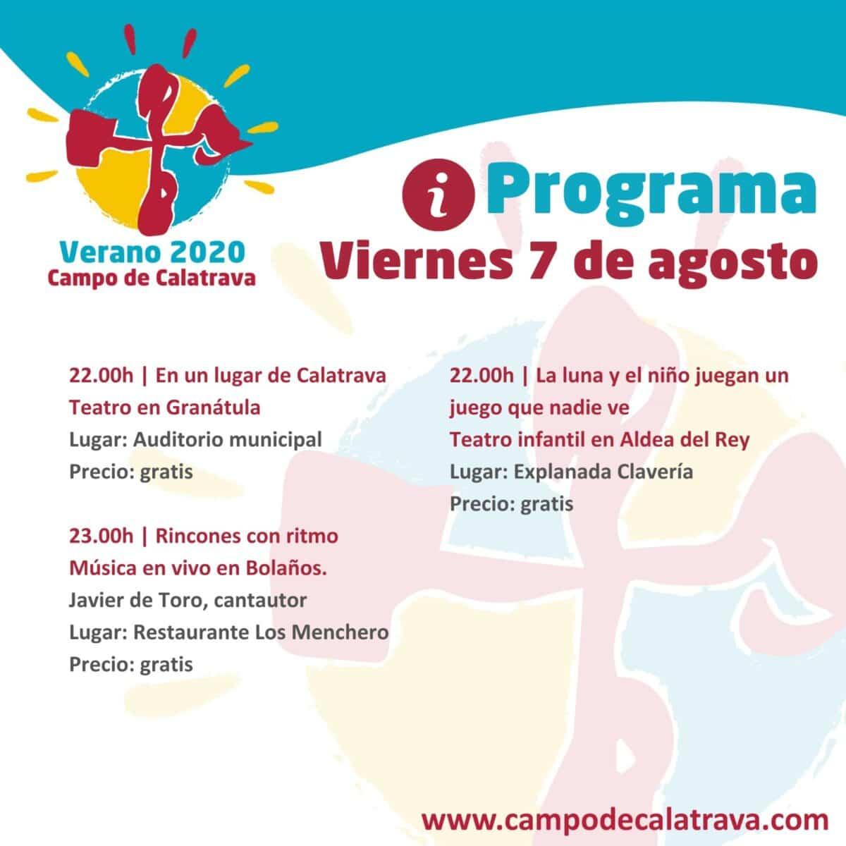 Acordes y melodías de grupos y cantautores locales, protagonistas de los rincones musicales en Verano Calatrava 2020 1