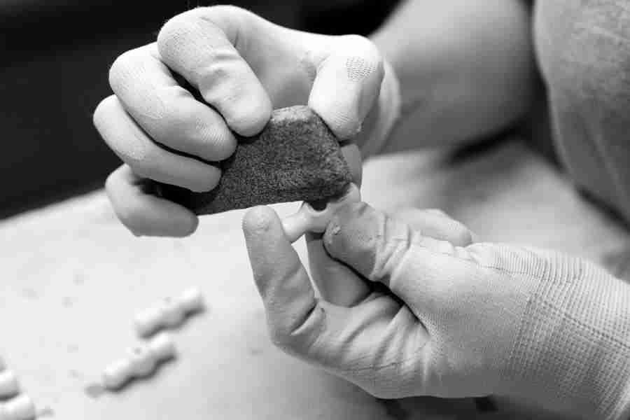 FONTINI nos muestra el proceso de fabricación de su porcelana 9