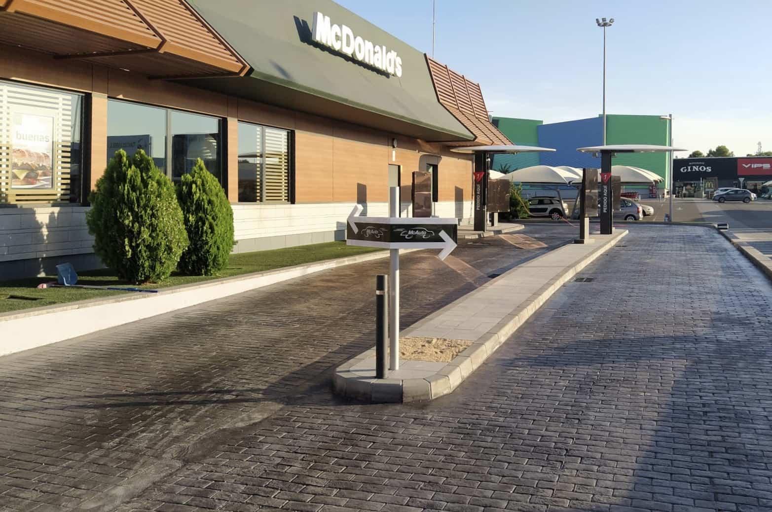 """McDonald's se renueva en CLM estrenando su sistema """"Dual Line"""" de McAuto en Toledo 6"""