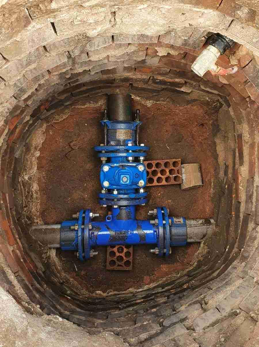 Ayuntamiento de Granátula instaló válculas de gestión de agua potable en todo el pueblo 6