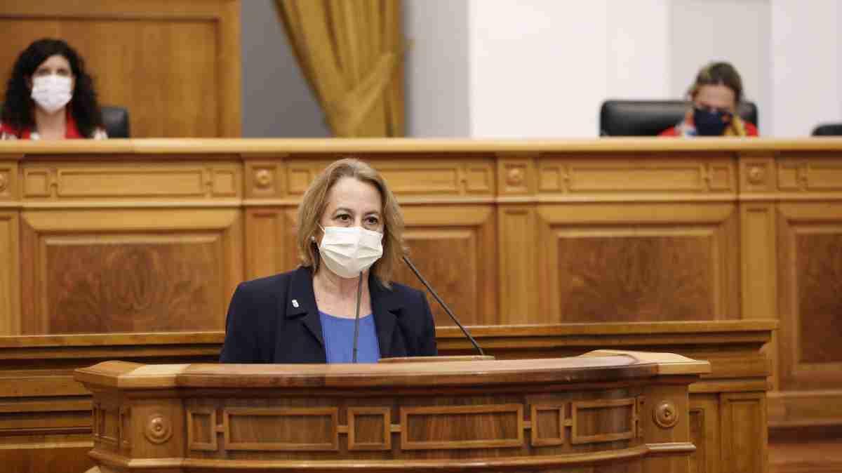 Manuela Casado y el compromiso de la Junta con Almadén 1
