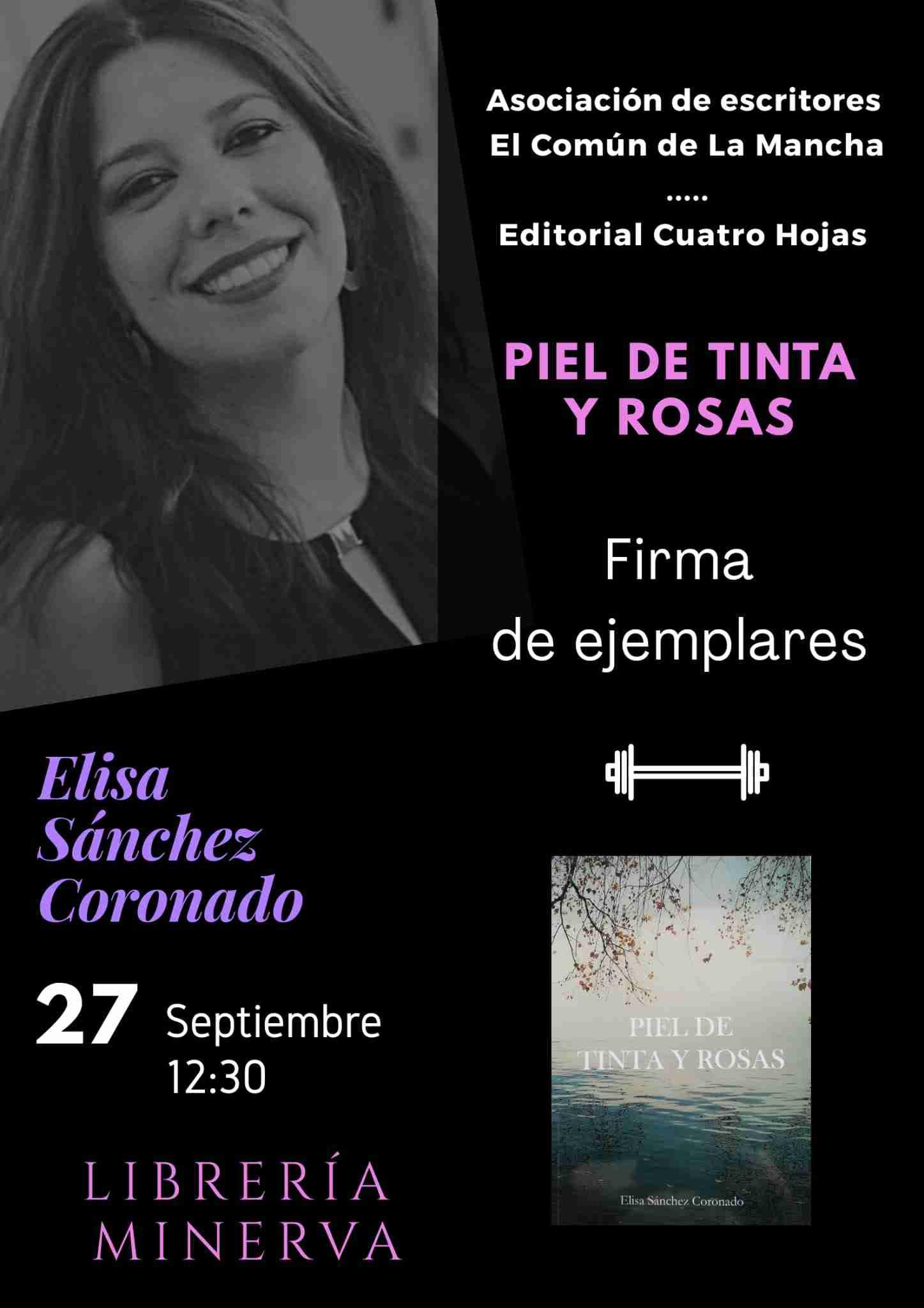 Elisa Sánchez Coronado presenta y firma ejemplares de su primera obra 1