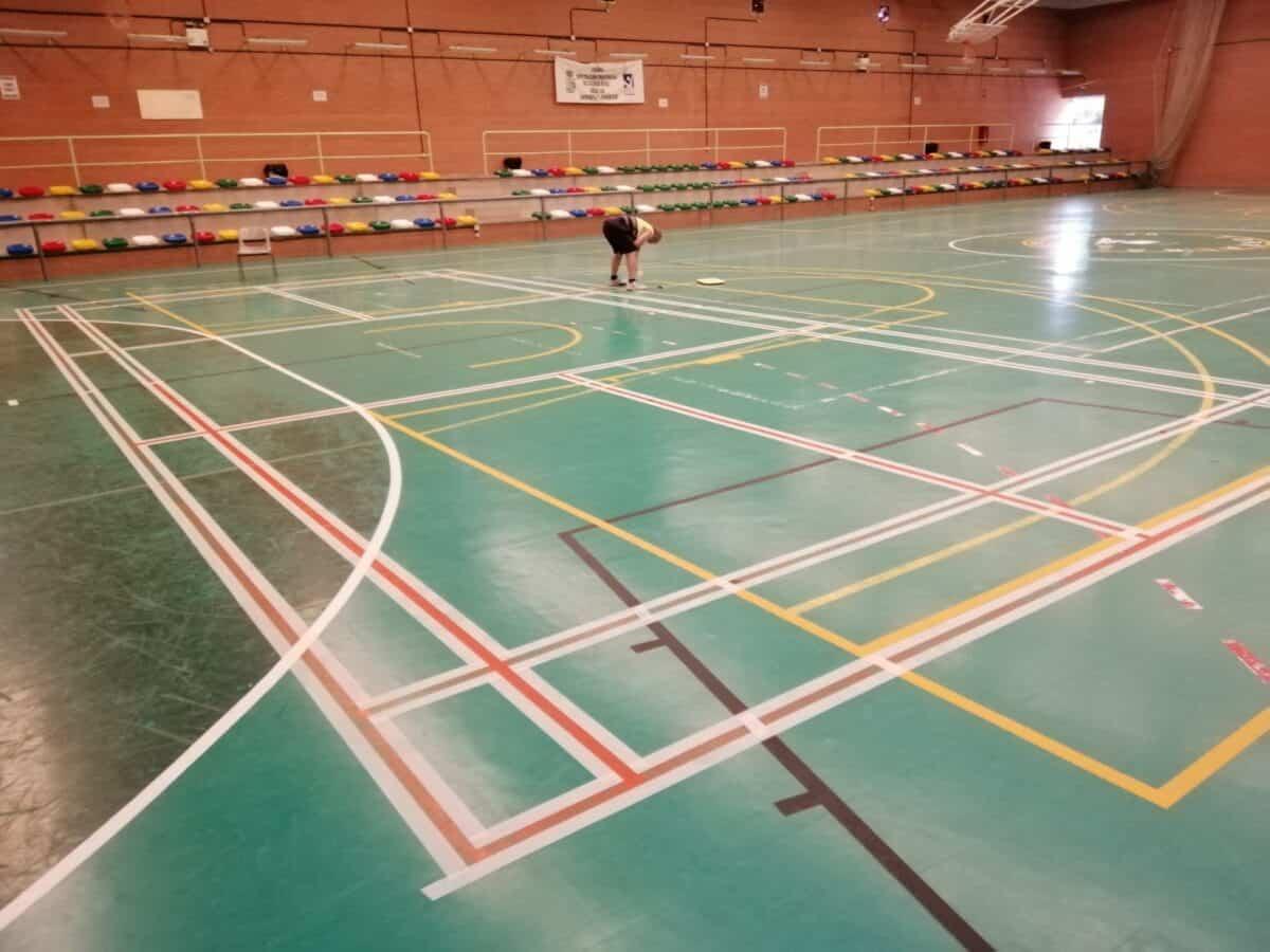El Ayuntamiento realiza mejoras en las instalaciones deportivas de Torralba de Calatrava 2