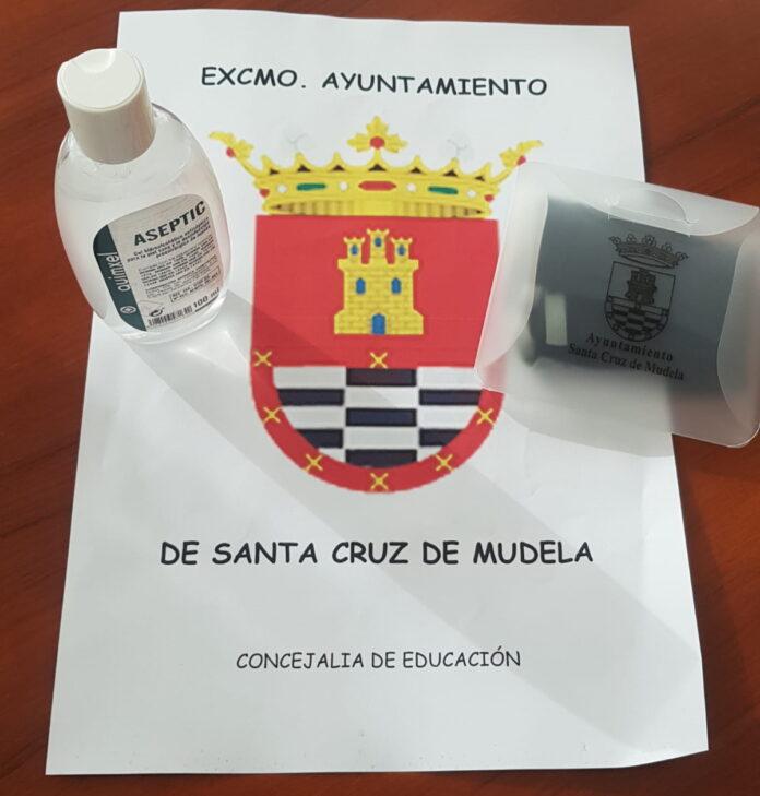 kit anticovid reparte ayuntamiento santa cruz mudela