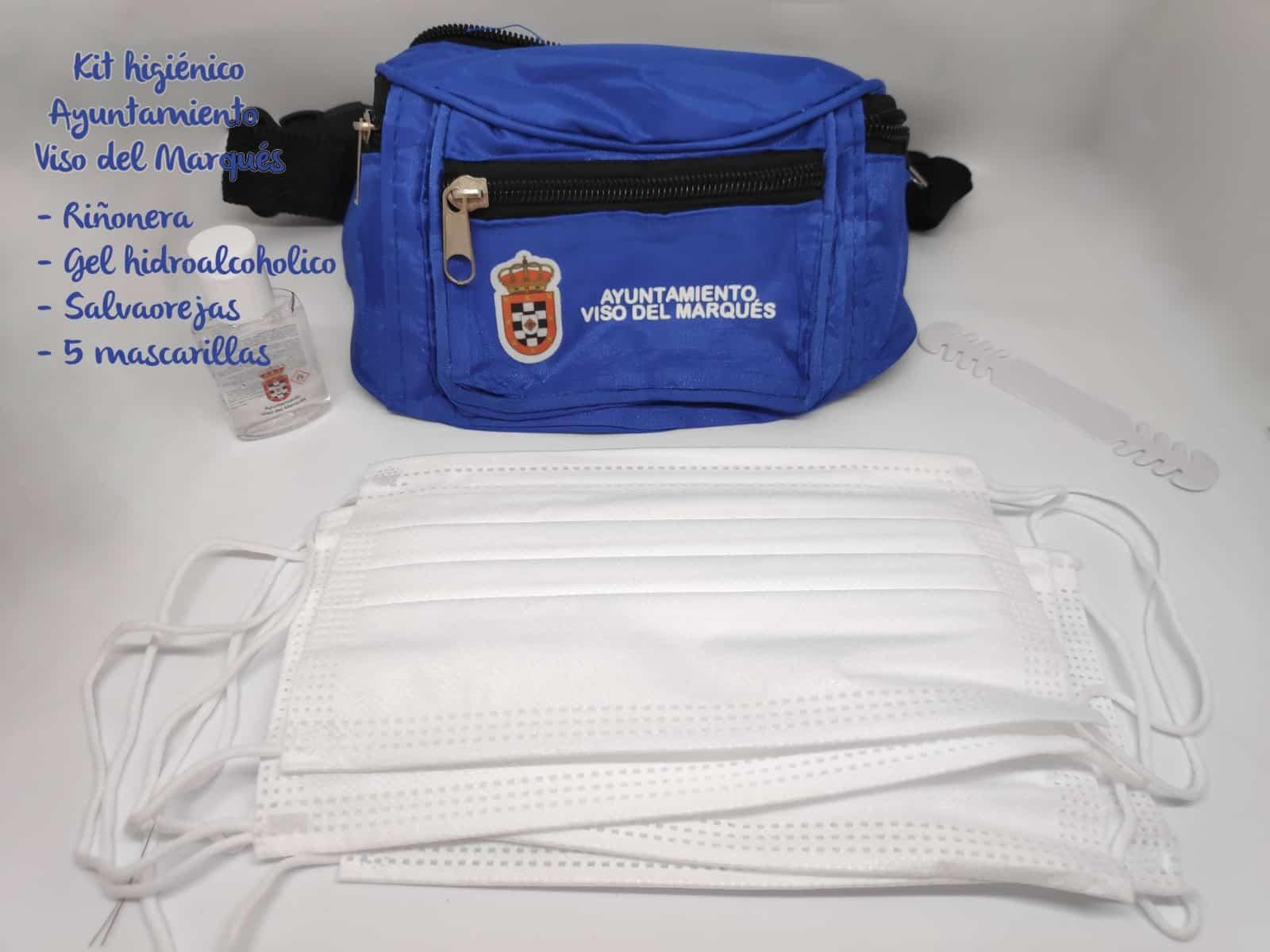 El Ayuntamiento de Viso del Marqués distribuye un kit anti-Covid entre el alumnado 3