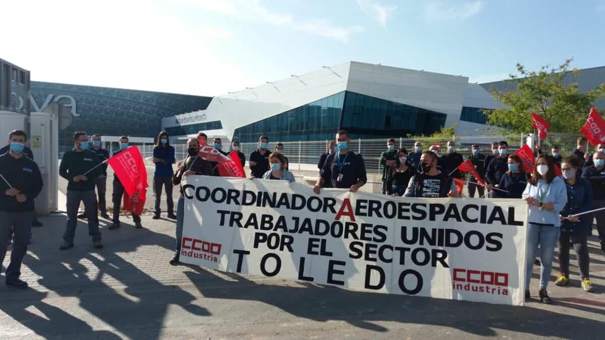 El sector aeronáutico y una jornada de lucha para preservar puestos de trabajo en una industria estratégica 11