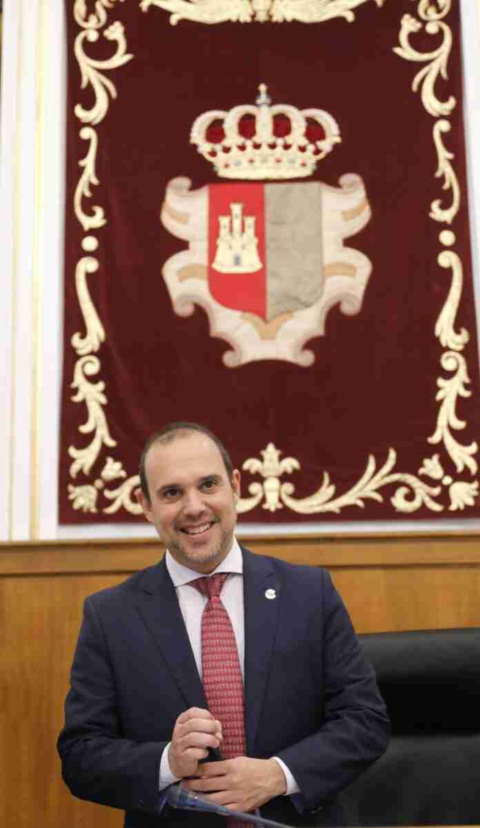 pablo bellido presidente cortes regionales dia de la democracia