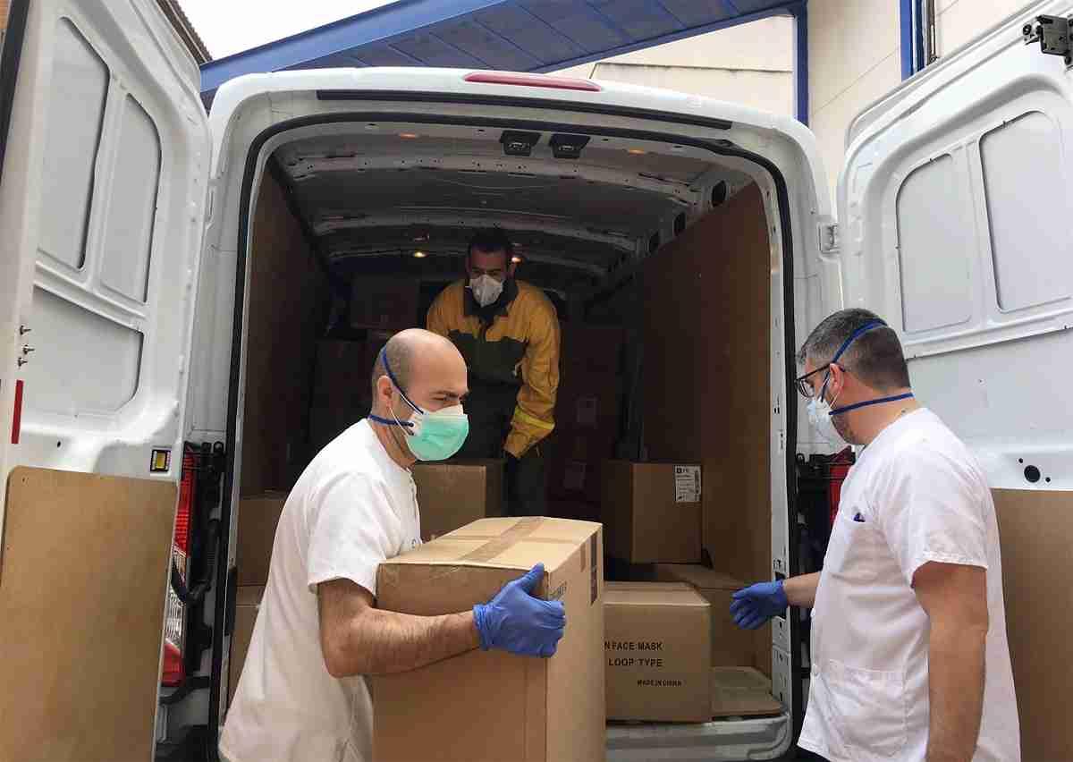 Los hospitales de la provincia de Ciudad Real reciben más de 182.000 artículos de protección frente al coronavirus 3
