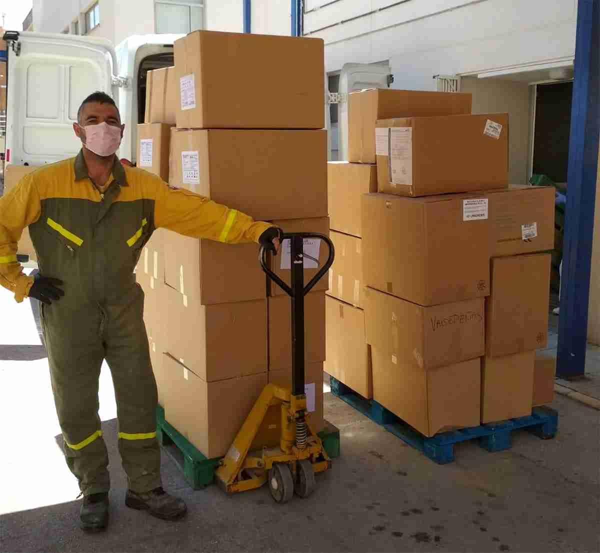 El Gobierno de Castilla-La Mancha distribuye más de 166.000 artículos de protección frente al coronavirus en la provincia de Ciudad Real 3