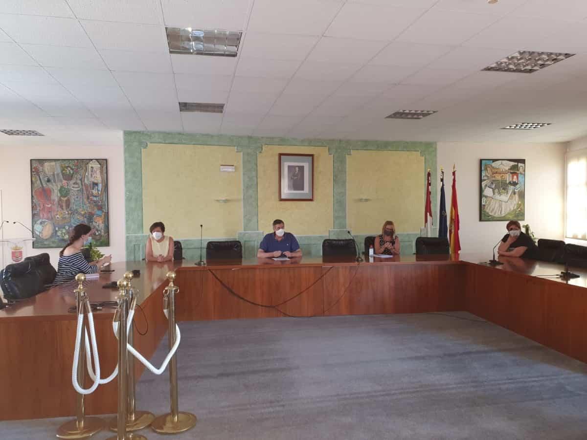 reunion alcaldesas educacion y sanidad