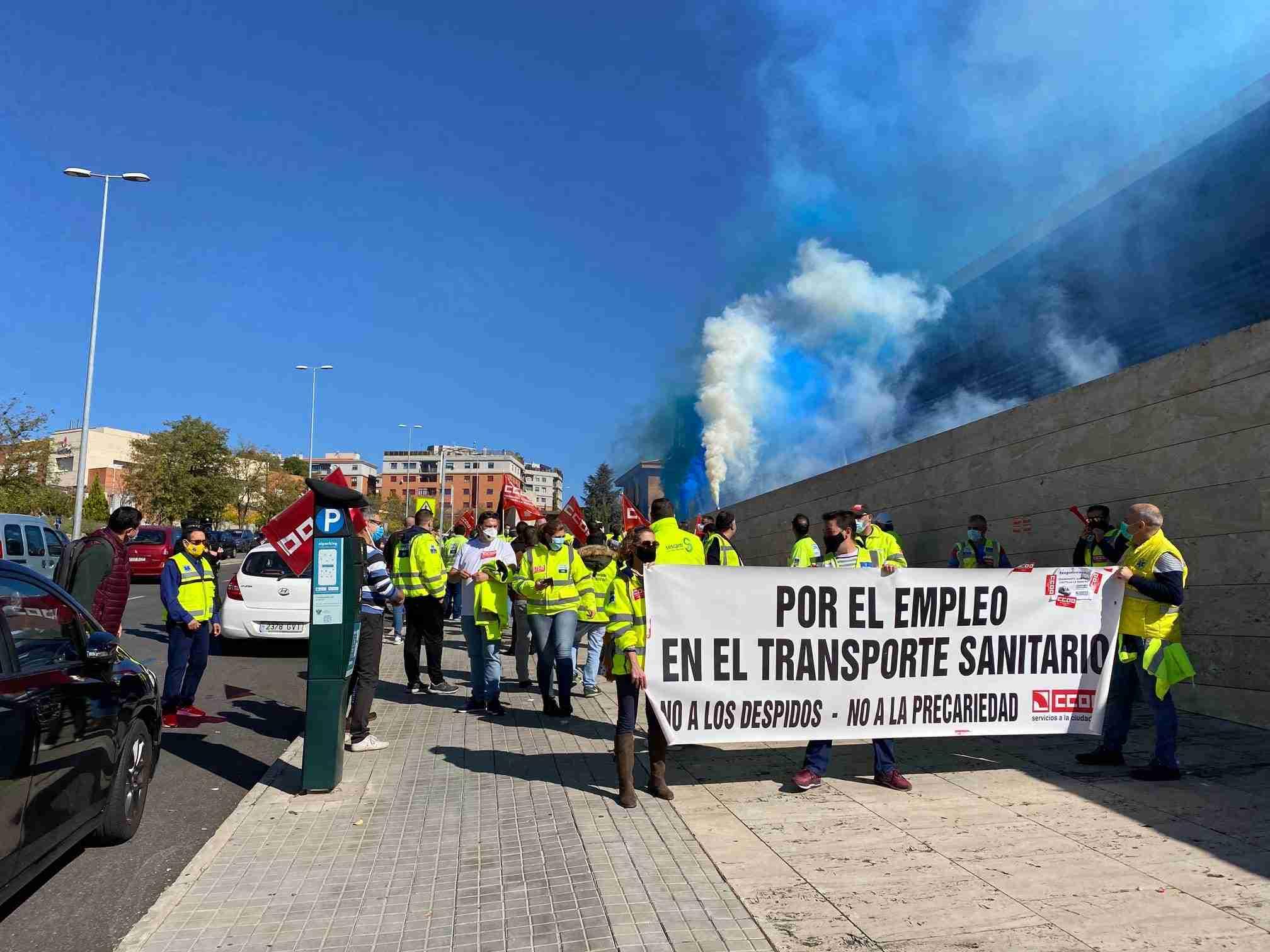 Los convocantes de la huelga del Transporte Sanitario anuncian un acuerdo del Sescam y las contratas para poner fin al conflicto 3