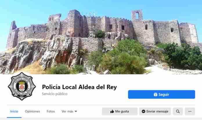 pagina facebook policia aldea del rey