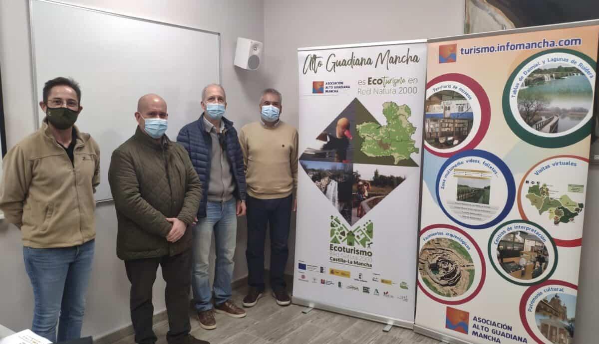 Presentación del proyecto de cooperación regional Ecoturismo en la Red Natura 2000 en Alto Guadiana Mancha 8