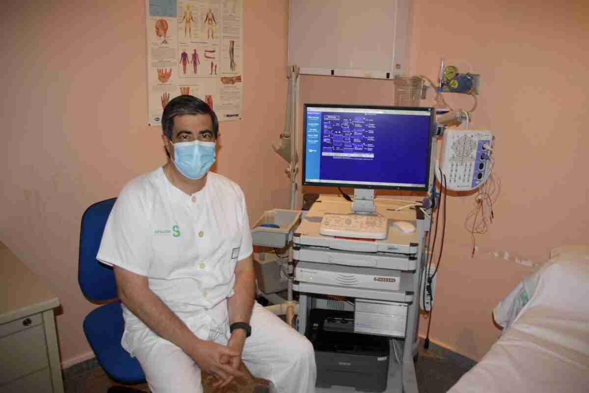 El Gobierno regional invierte más de 32.000 euros en el nuevo electromiógrafo del Hospital General de Tomelloso 2